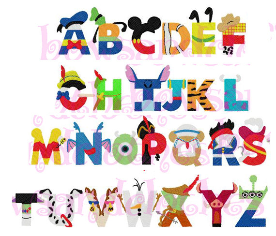 Letter clipart disney Design mouse Mickey letters download