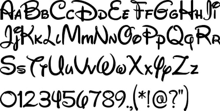 Letter clipart disney Letters Letters and Clipart Clipart