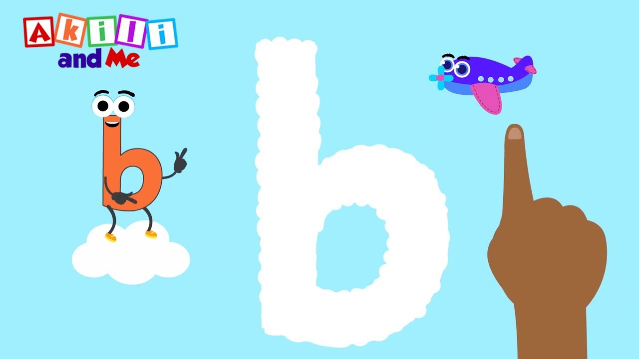 Letter clipart early literacy And with Akili b! literacy