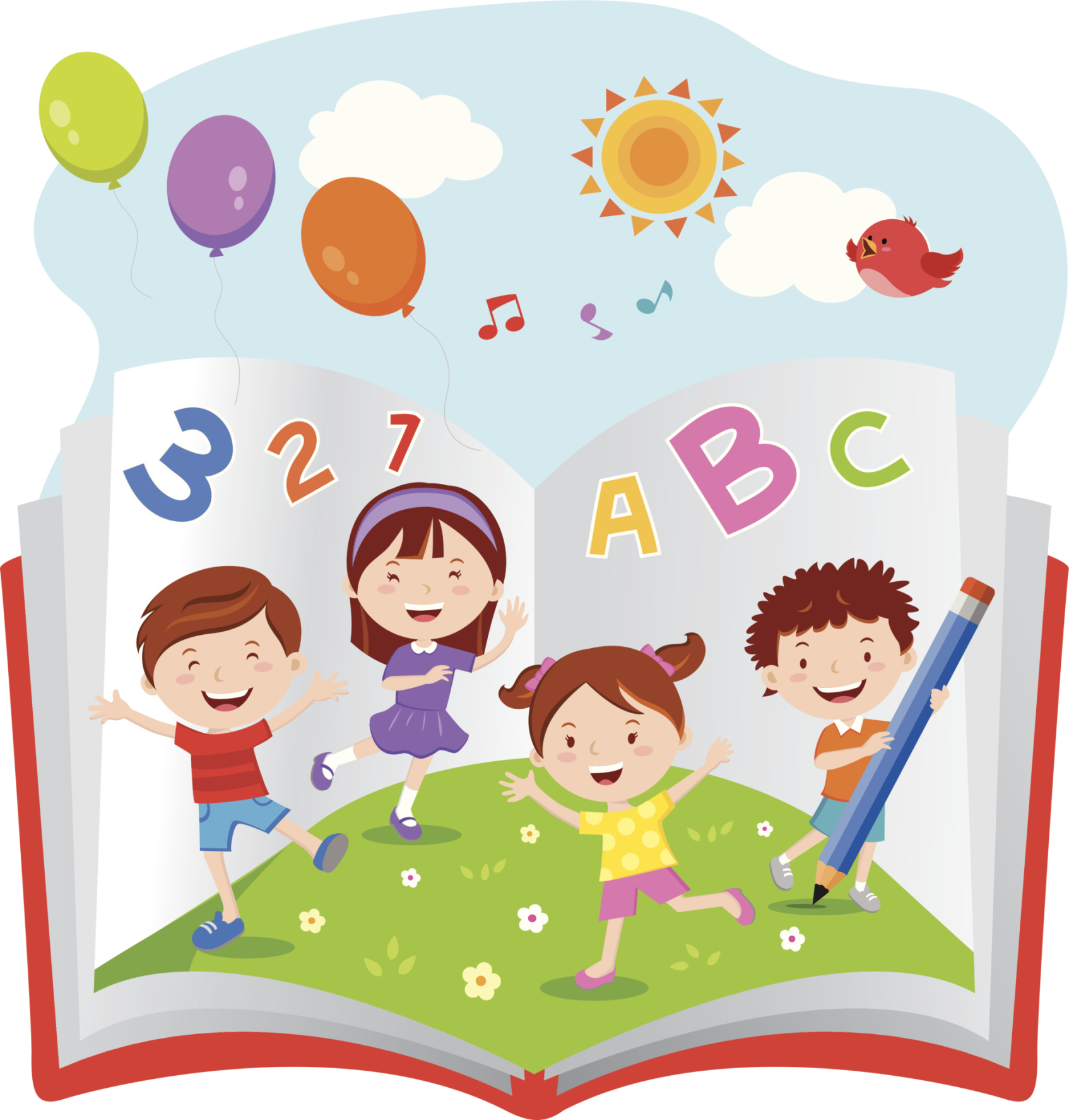 Letter clipart early literacy Games start fun and great