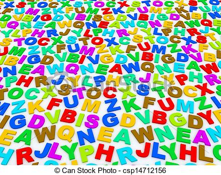 Letter clipart english alphabet #9