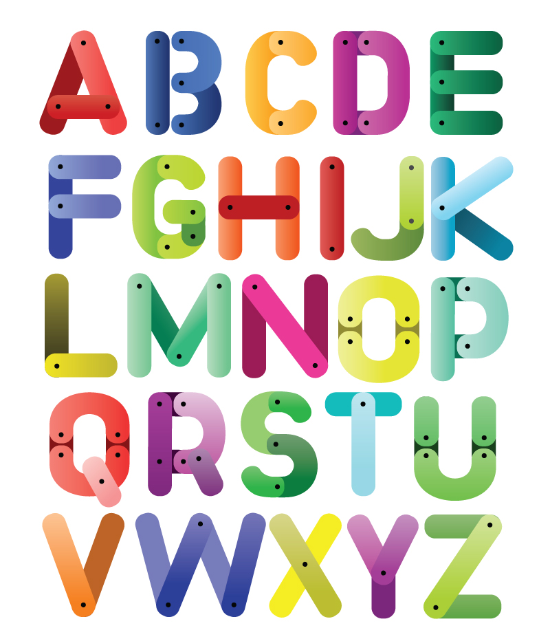 Letter clipart english alphabet #8