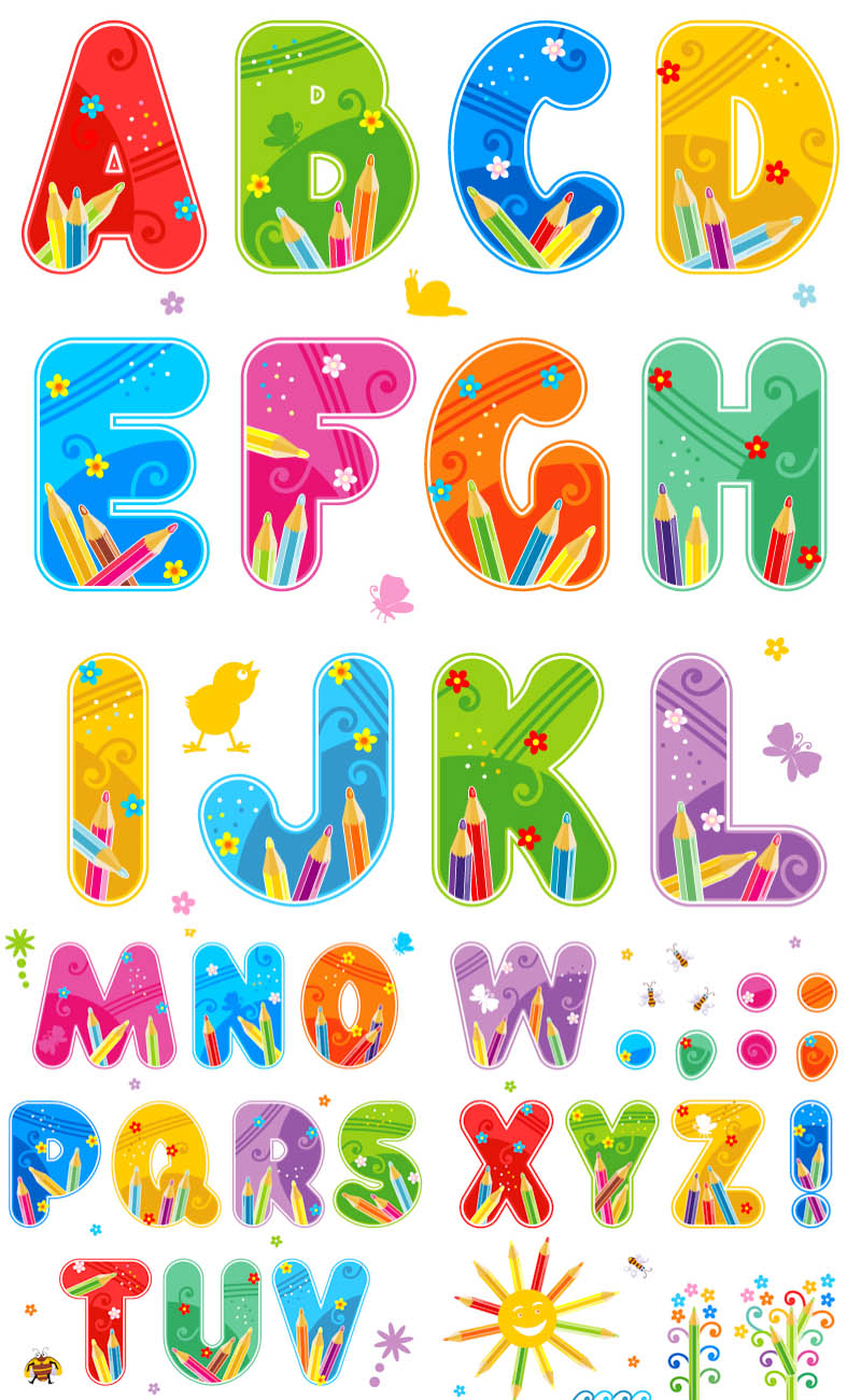 Letter clipart english alphabet #11