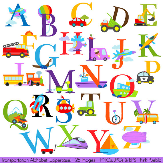 Letter clipart english alphabet #1
