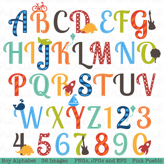 Letter clipart english alphabet #4