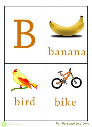 Letter clipart flashcard For Homeschooling cards Flash Homeschooling