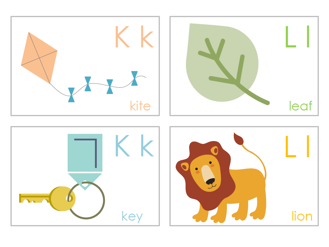Letter clipart flashcard Homemade flashcards For I