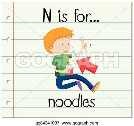 Letter clipart flashcard  Art illustration for gg84341097