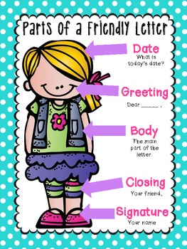 Letter clipart friendly letter Writing {everything Friendly Writing Chaos