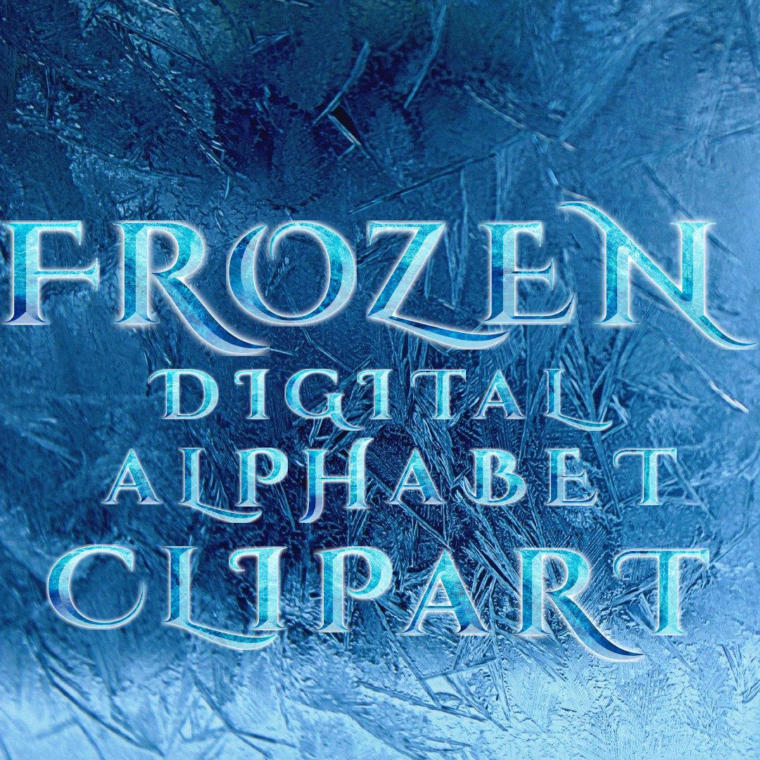 Letter clipart frozen Clipart Letters Like Alphabet Frozen