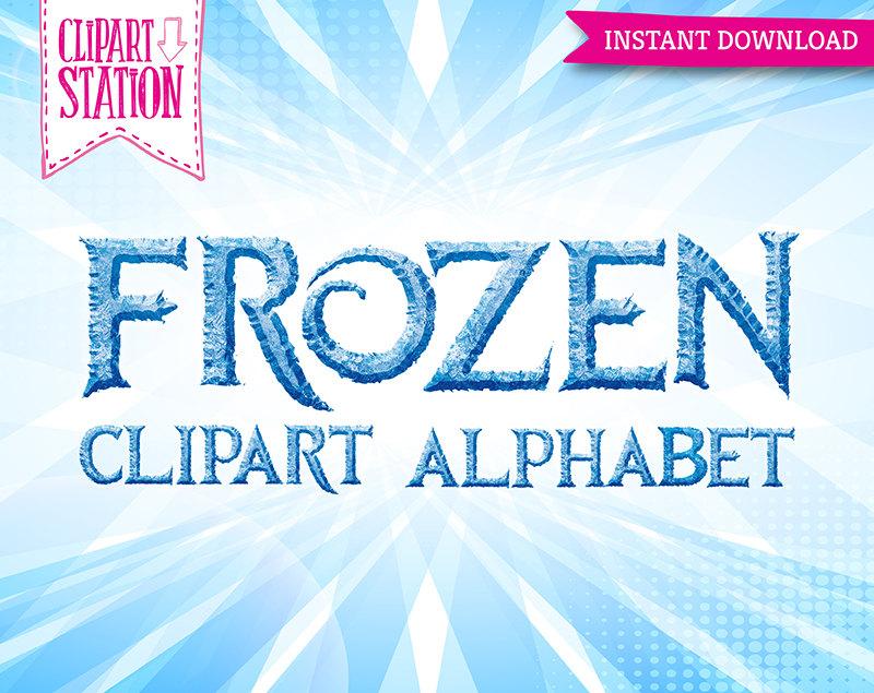 Letter clipart frozen Alphabet Disney Disney Frozen By