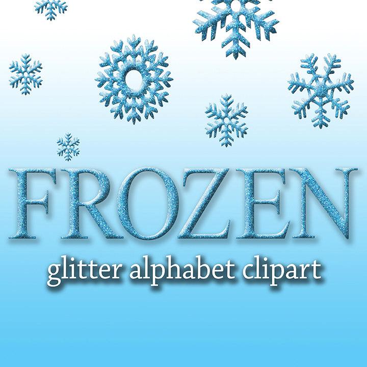 Letter clipart frozen Clipart Frozen Like Alphabet Frozen