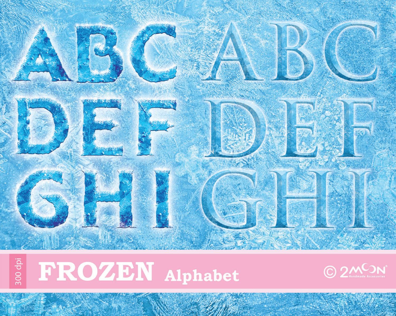 Letter clipart frozen 300  Frozen 124 2moon