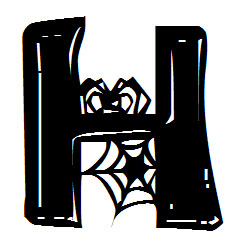 Letter clipart halloween Clip Letters Halloween Halloween Letters