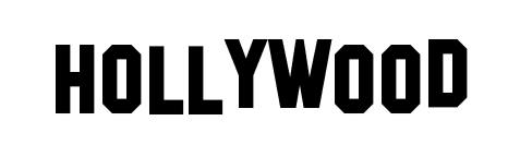 Letter clipart hollywood Hollywood (47+) fonts Clipart Sign