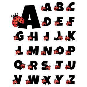 Letter clipart ladybug Alphabet best Pinterest Store: about
