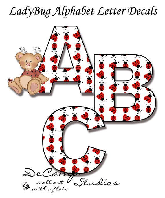 Letter clipart ladybug Pinterest decor Spell Art baby
