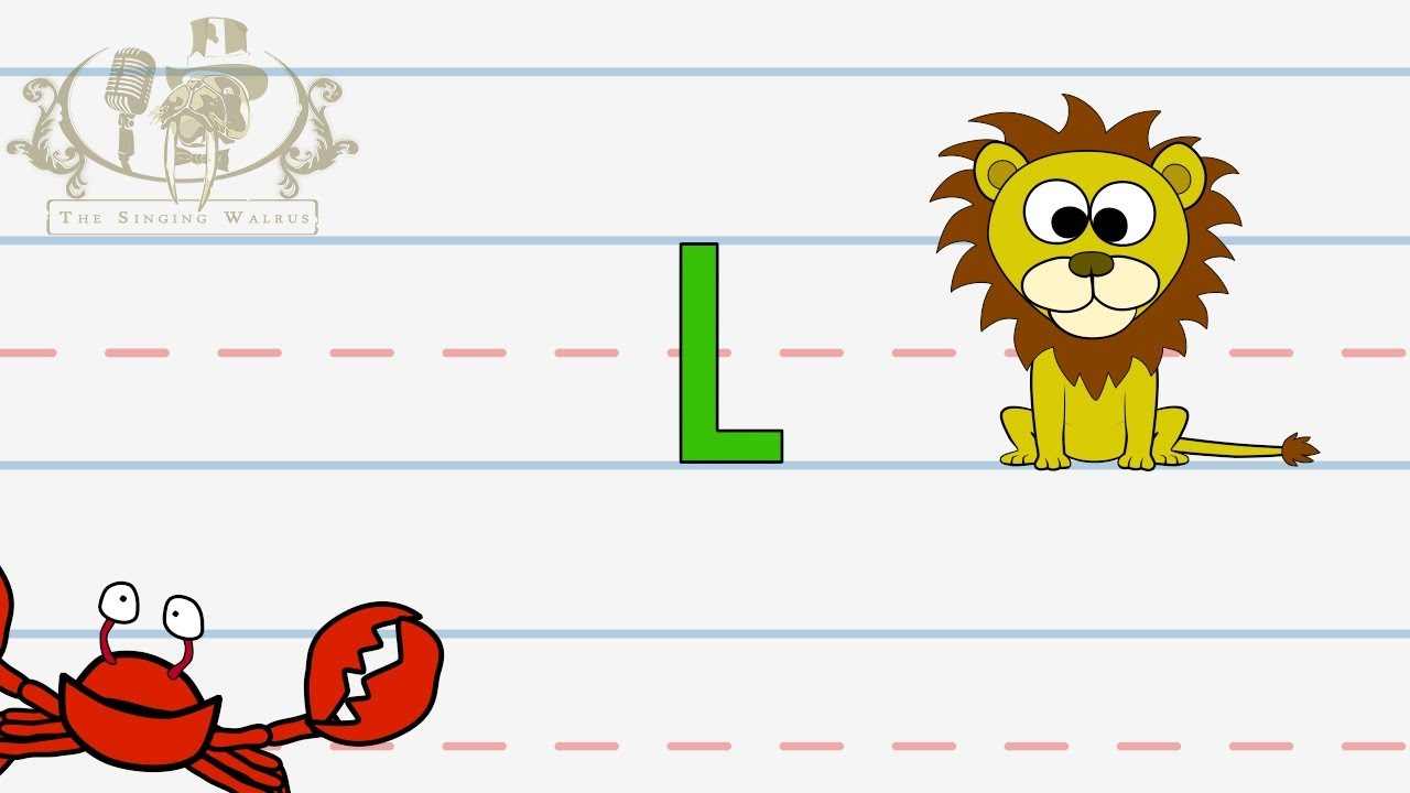 Letter clipart lesson Walrus for  The Writing