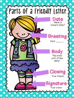 Letter clipart lesson Letter Letter need!} Friendly Writing