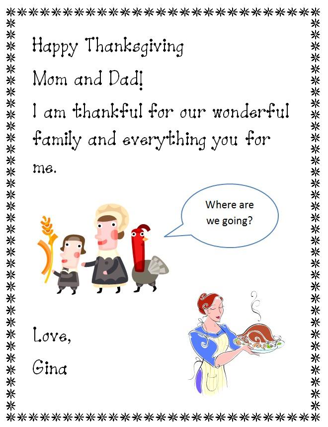 Letter clipart lesson K Letter Happy Letter Thanksgiving