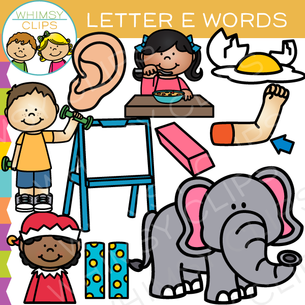 Letter clipart letter sounds Letter Art art Whimsy Alphabet
