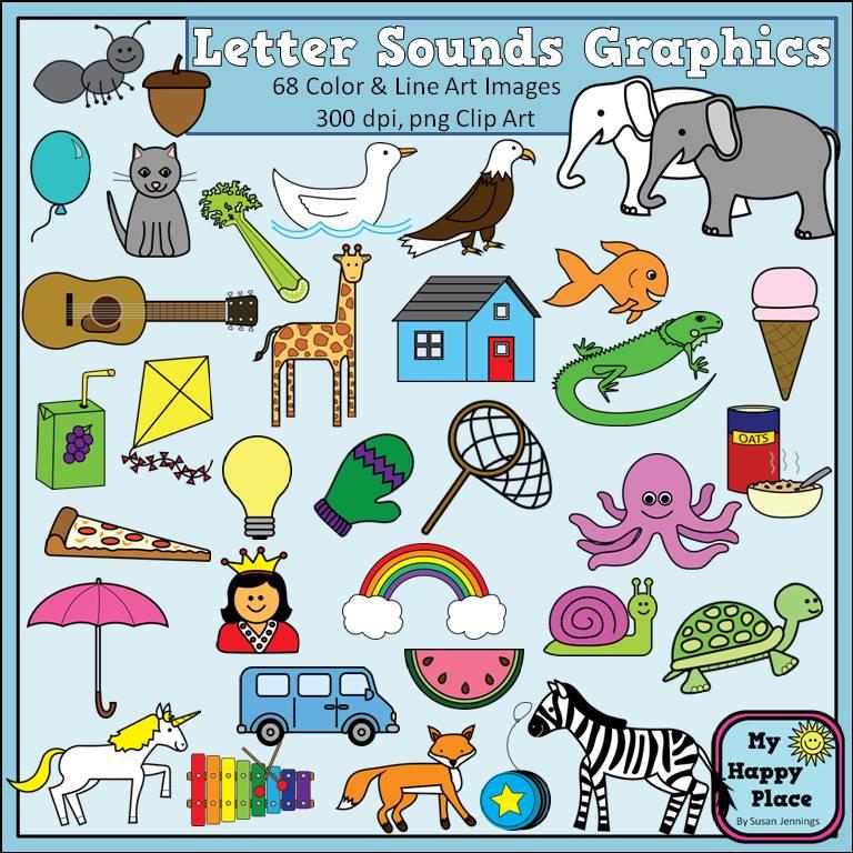 Letter clipart letter sounds For Alphabet Sounds Phonics Commercial