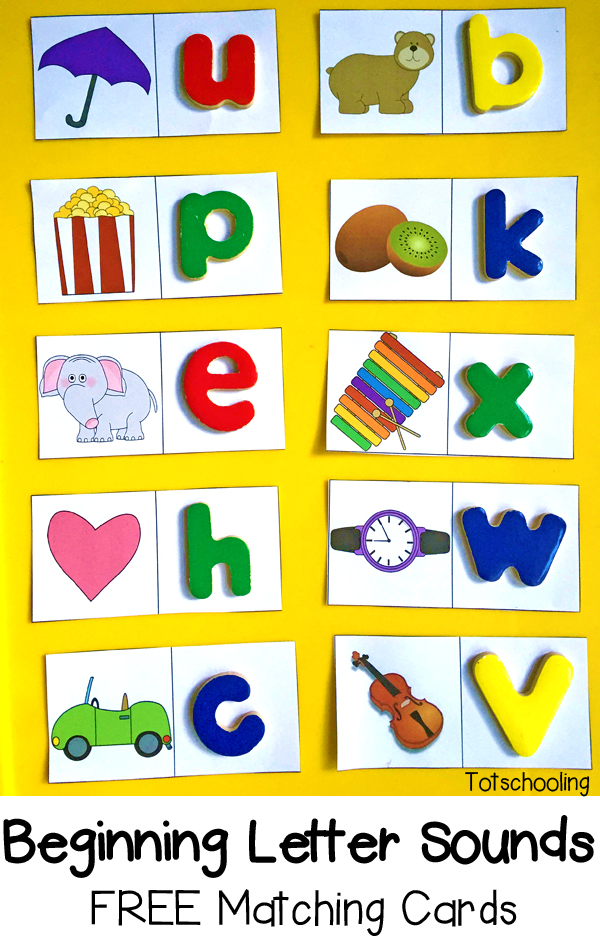 Letter clipart letter sounds Cards FREE Beginning and practicing