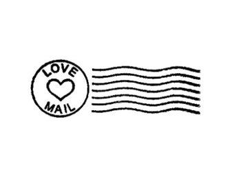 Letter clipart letter stamp #14