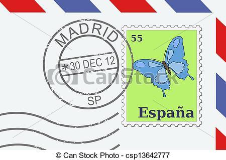 Letter clipart letter stamp #5