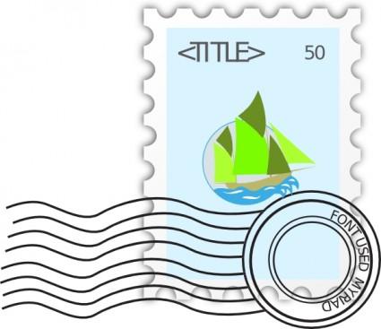 Letter clipart letter stamp #4