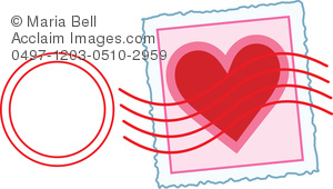 Letter clipart letter stamp #8