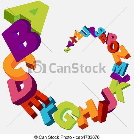 Lettering clipart alphabet – Lettering Free Clipart Download