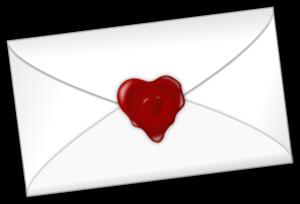 Letter clipart love letter On Letter Clker Letter Art