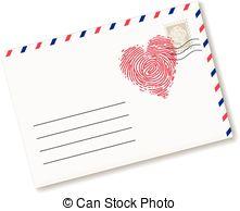 Letter clipart love letter 59 Love  fingerprint heart