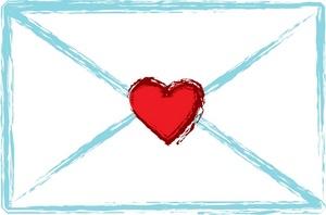 Letter clipart love letter Envelope Clipart Free Clipart Letter