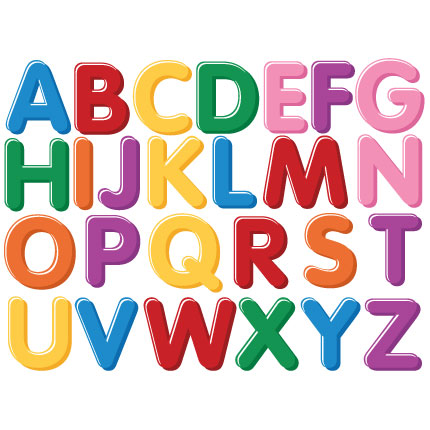 Letter clipart magnetic letter Alphabet clipart magnet For Fridge