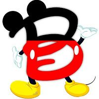 Letter clipart mickey mouse #11