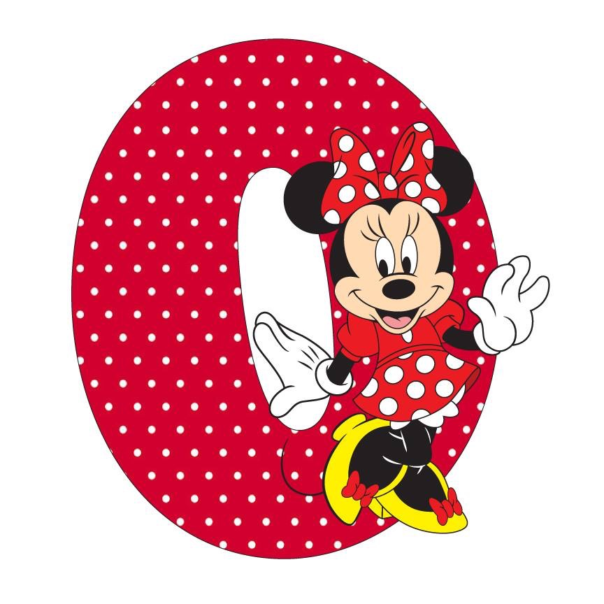 Letter clipart minnie mouse O · Minnie Mouse mouse