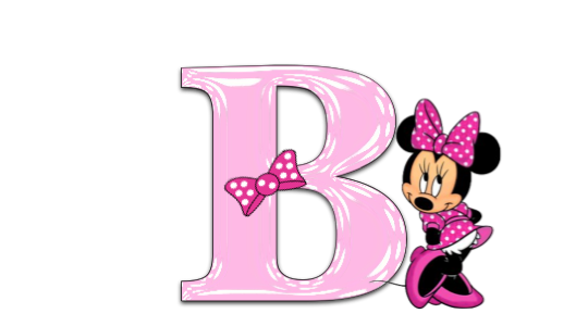 Letter clipart minnie mouse #4