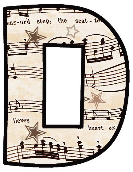 Musical clipart music score  Sheet 003 ArtbyJean ArtbyJean