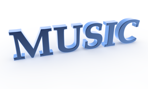 Word clipart music Free Music Characters 3D Free
