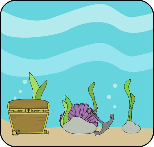 Scenery clipart ocean theme #8
