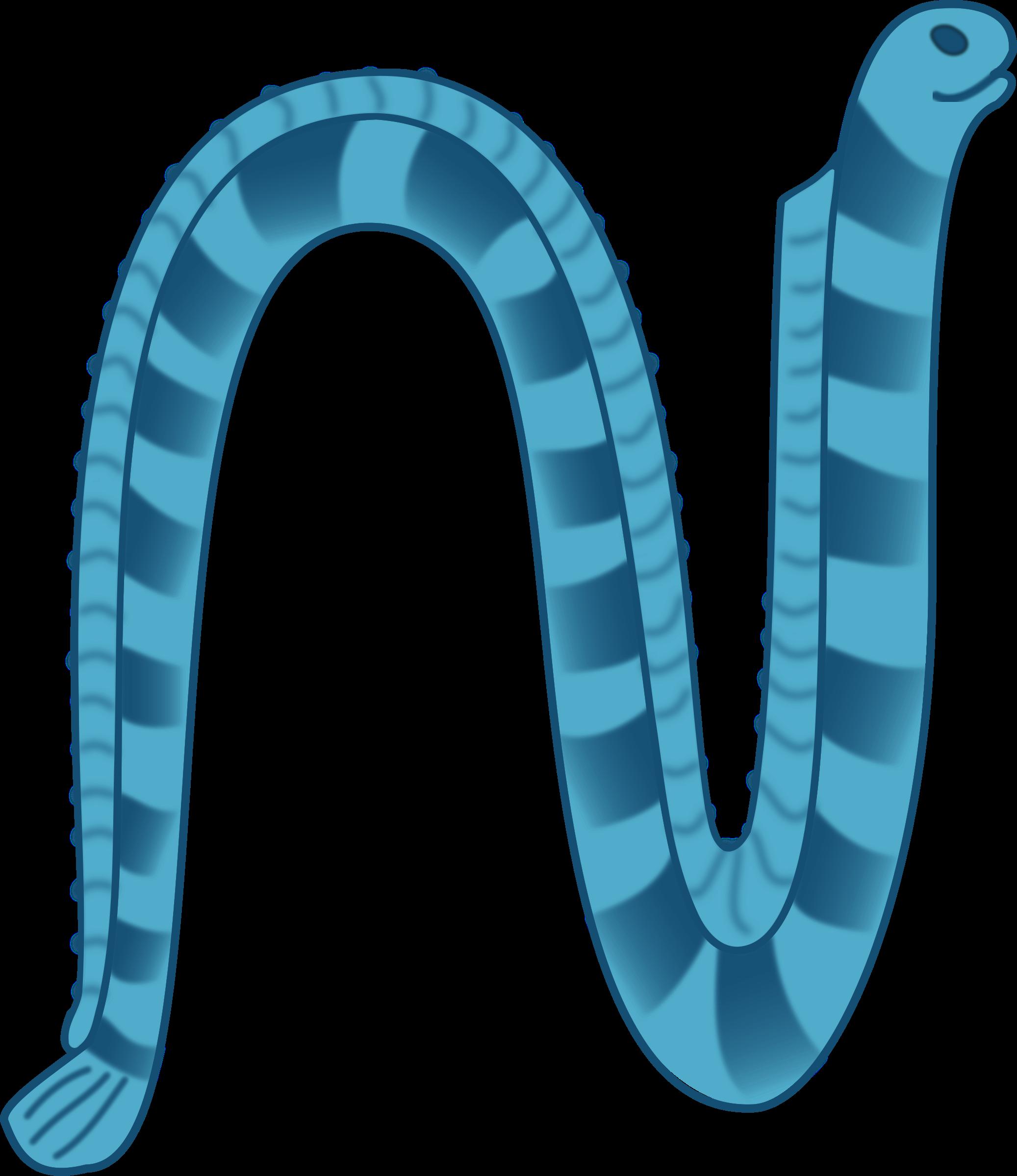 Reptile clipart sea snake #1