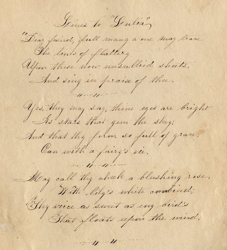 Letter clipart old letter #3
