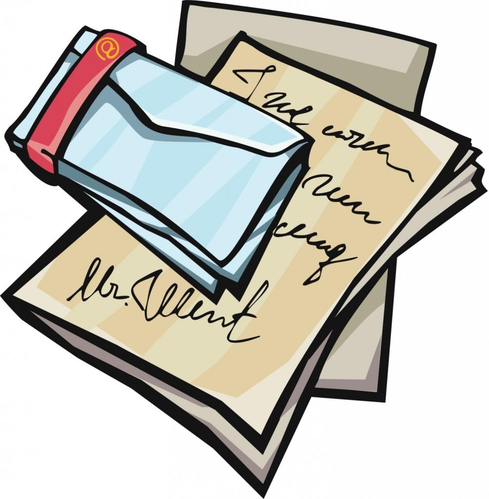 Letter clipart old letter Panda Free Art Letter Old