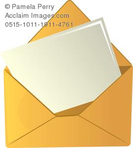 Letter clipart piece paper Paper  an Symbolizing a