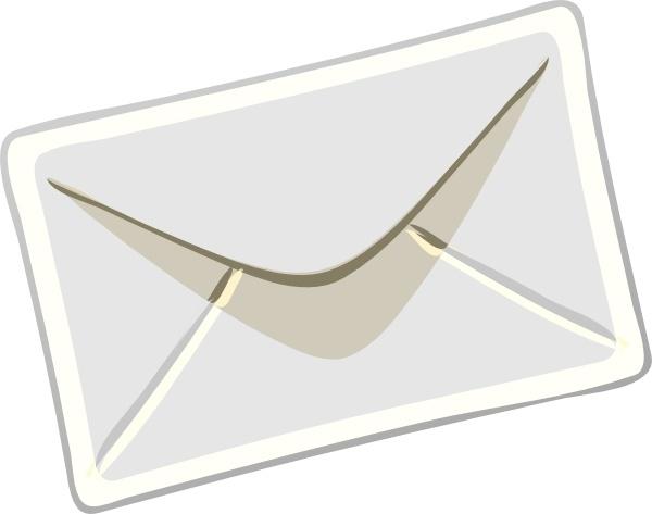 Letter clipart postal Metal Industrial Envelope Large Free