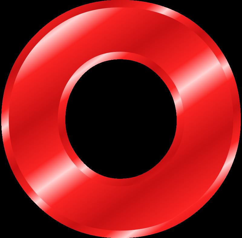 Letter clipart red Free Art Art Fonts B