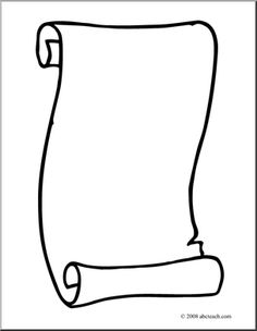 Letter clipart scroll Clip decorative scrolls more this