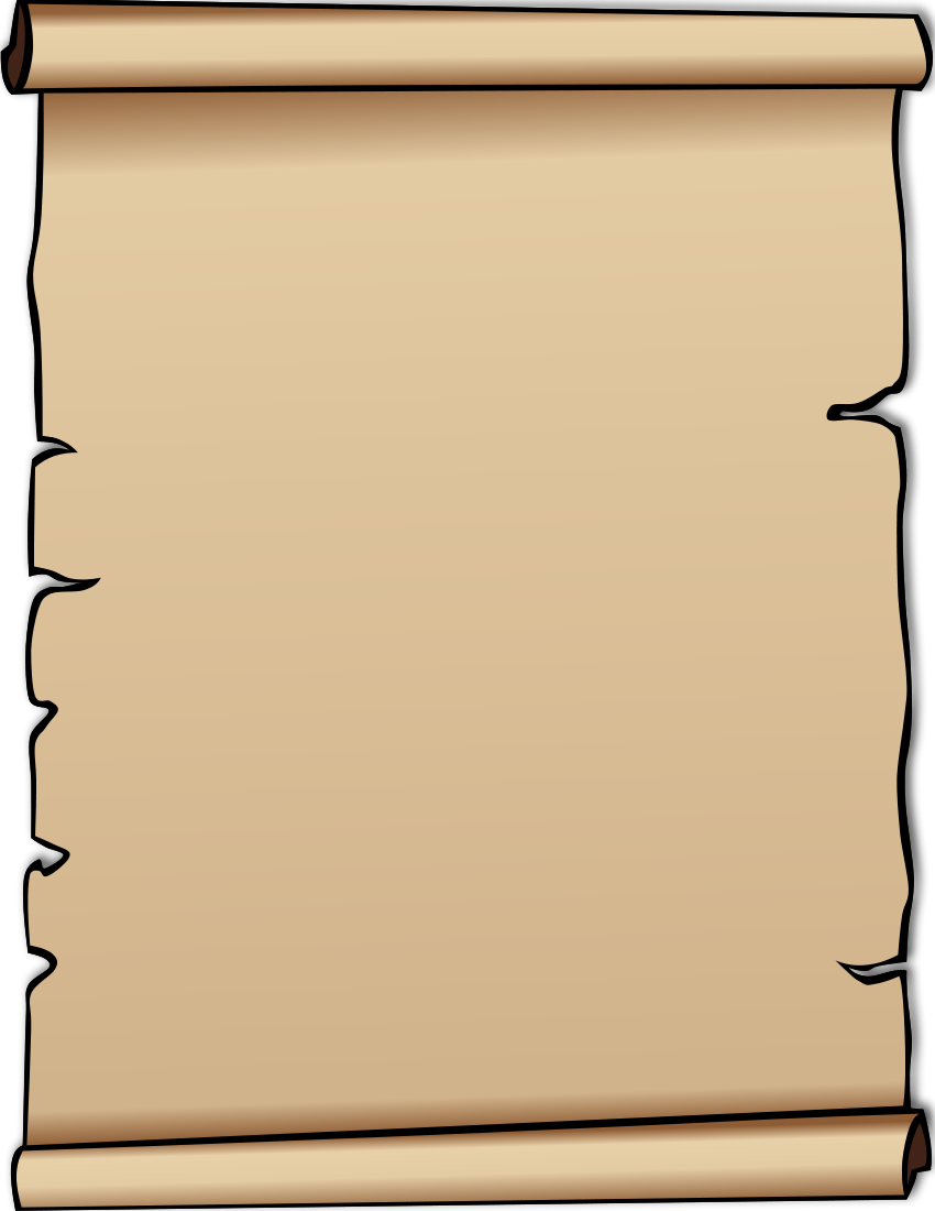 Letter clipart scroll Scroll scroll Clipart letter free